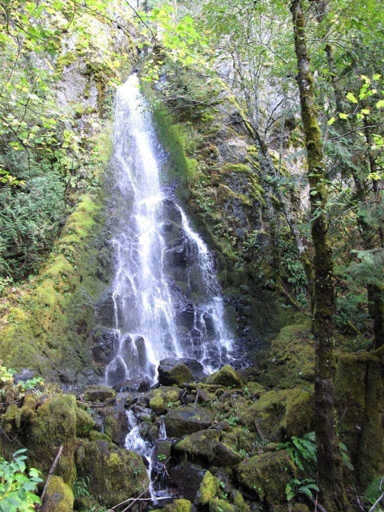 Summit Creek Falls Columbia River Gorge