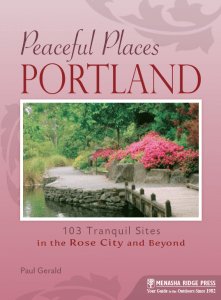 Peaceful Places in Portland
