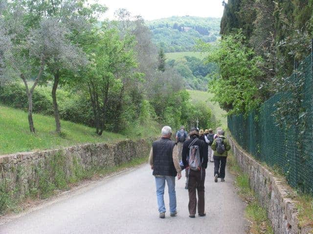 Hiking in Tuscany