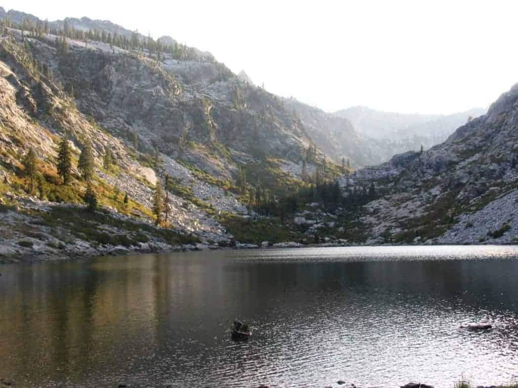 Trinity Alps hiking and climbing