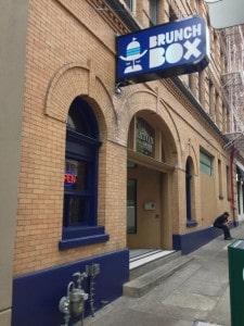 portland food cart downtown breakfast brunch box
