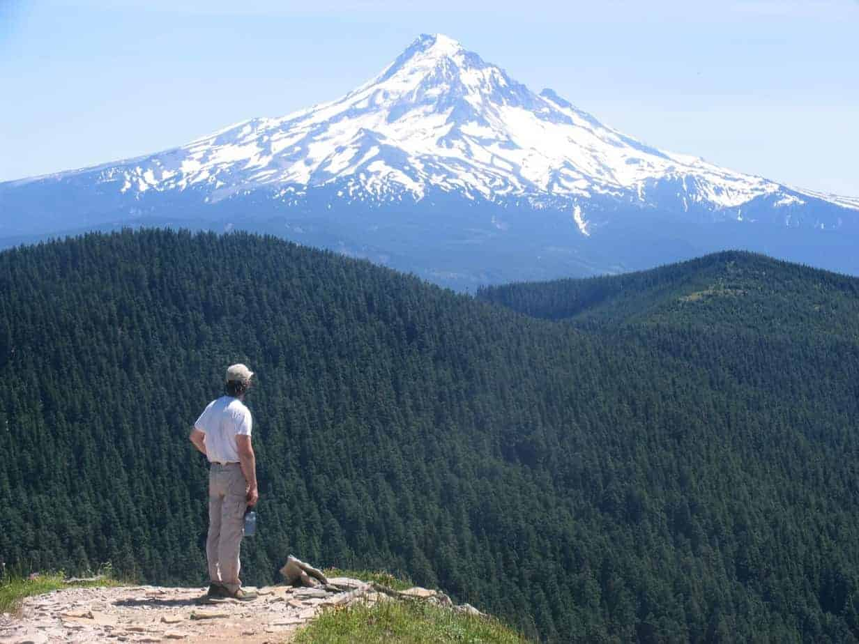 "Chinidere Mountain is an easy hike with a great view, and is the cover shot for my book ""60 Hikes Within 60 Miles of Portland."""