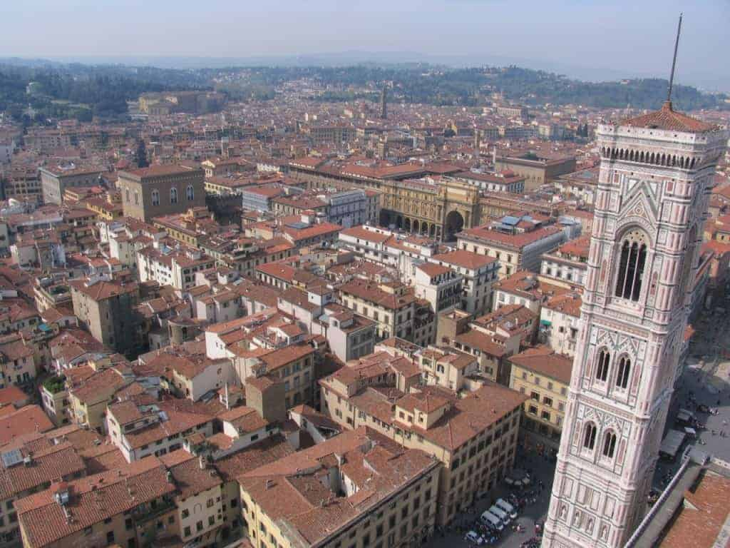 You might even want to climb a tower in Florence.