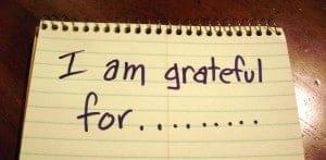 recovery share: gratitude