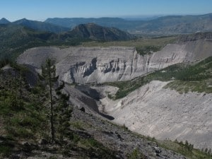 Best Mount Saint Helens Hikes: Sheep Canyon.