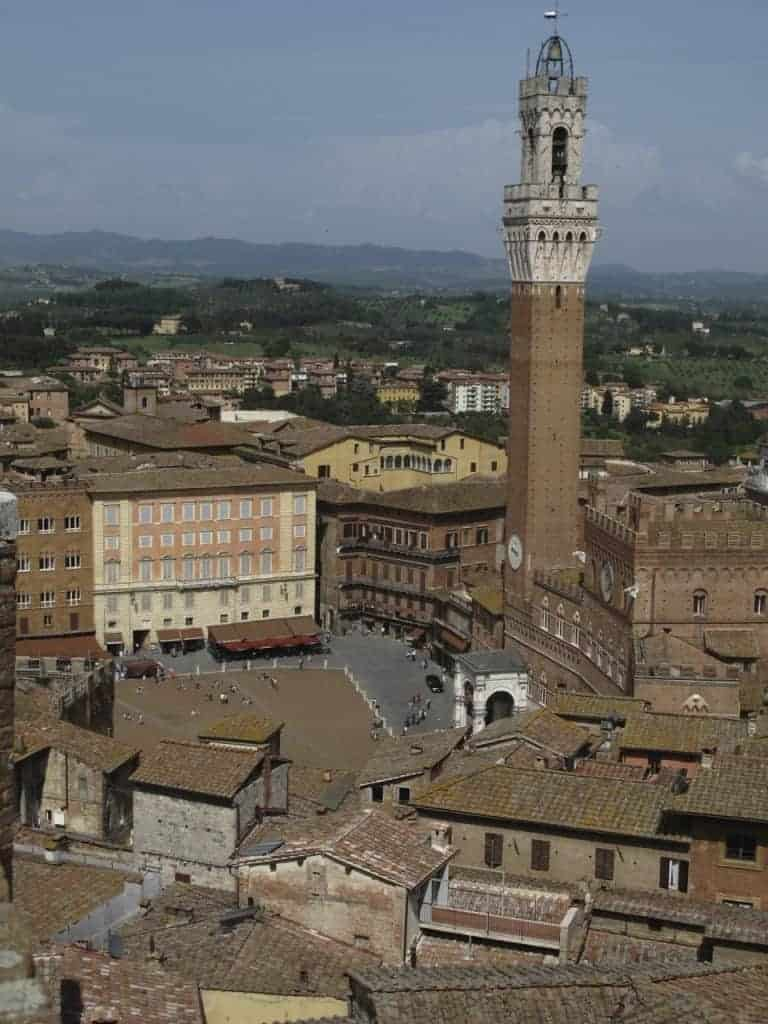 Il Campo in Siena.