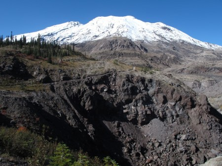 Ape Canyon is one of the best hikes near Mount Saint Helens.