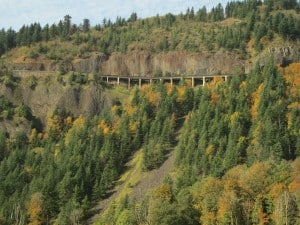 The Cape Horn Loop is one of the best gorge hikes and fall colors hikes near Portland.