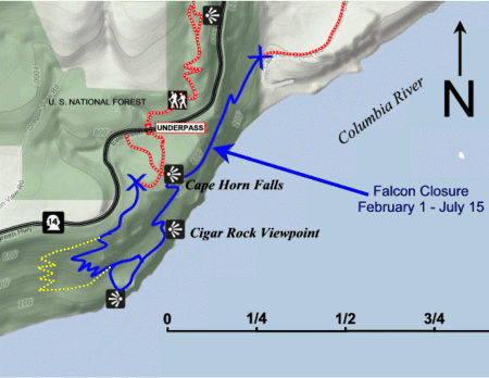 The Cape Horn Western Re-Route