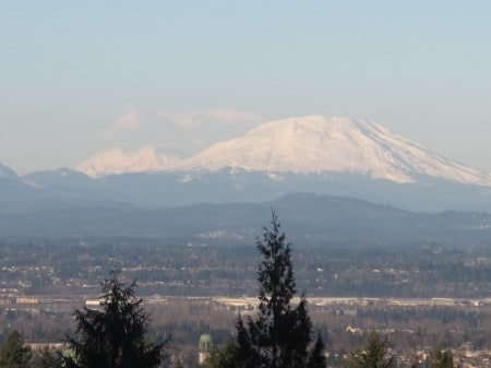 Washington Park is one of the best Portland hikes in the wintertime.