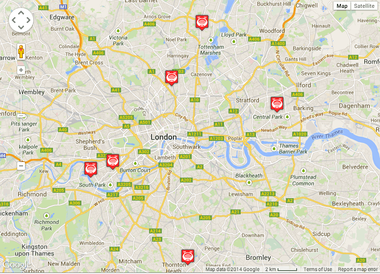 Things Youll Love About Seeing Soccer in England – London Neighborhood Map