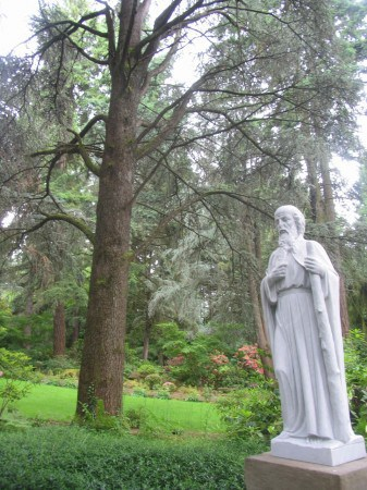 The Grotto is one of the truly peaceful places in Portland -- except at Christmas.
