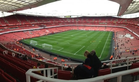 English Soccer: Seeing a game at Arsenal.