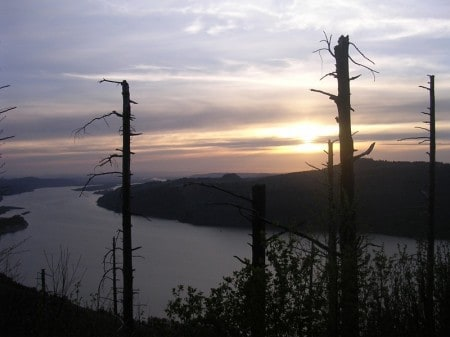 Sunset from Angel's Rest