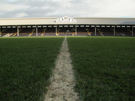 Seeing soccer in England: Tour Craven Cottage at Fulham