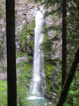 siouxon creek hike gifford pinchot national forest.