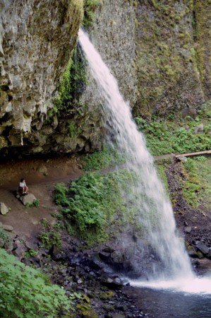 ponytail falls triple falls columbia gorge hikes oregon