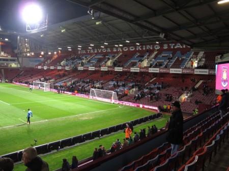 English soccer tour: West Ham United.