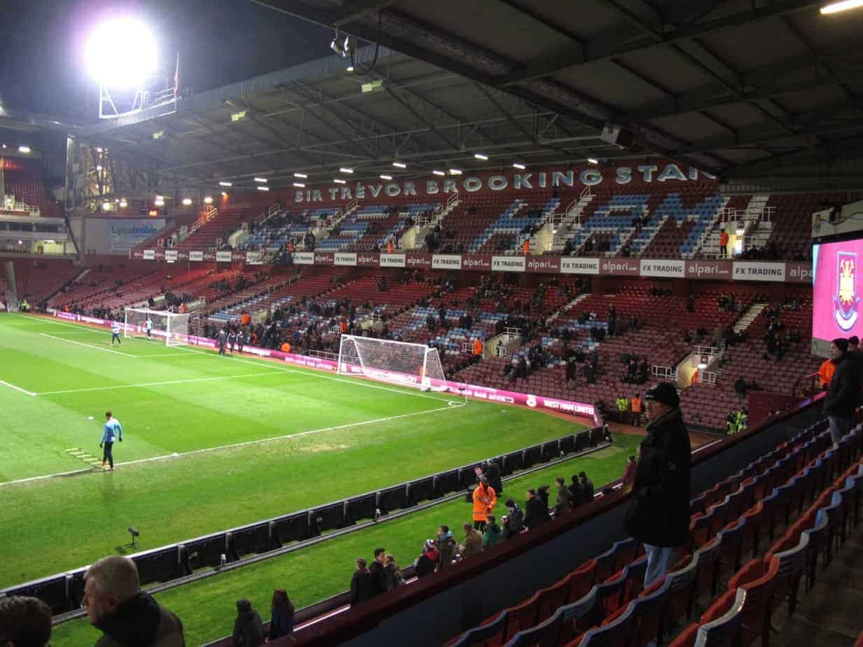 English soccer tour: West Ham United.