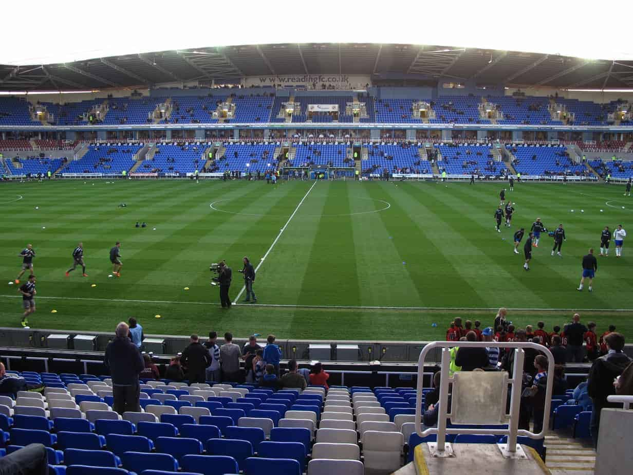 The Madejski Stadium in Reading.