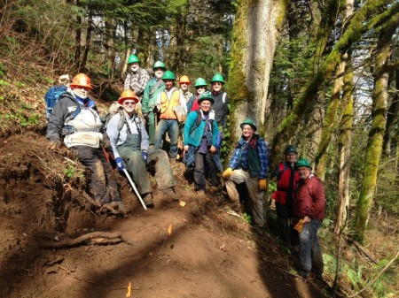 Hooray for trail maintenance crews!