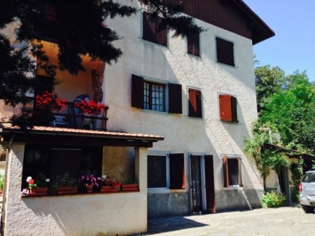 Our second Tuscan hike started at this quaint hotel in Corfino.
