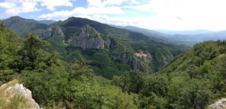 These views come early in the hike to Pania di Corfino.