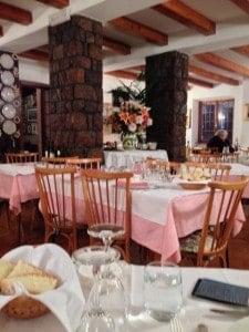 The family-run restaurant.