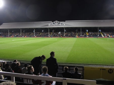 Fulham's Craven Cottage -- old-fashioned soccer in London