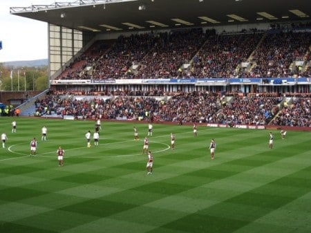 Watching a soccer game at Burnley FC is a trip back in time.