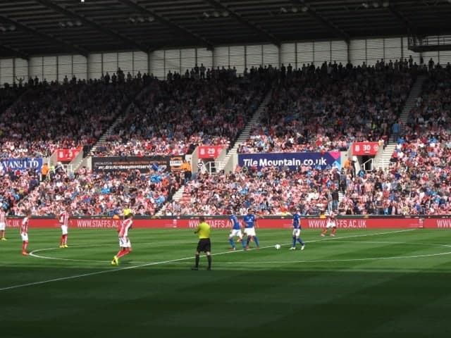 Stoke City vs Leicester City FC, Britannia Stadium 2014