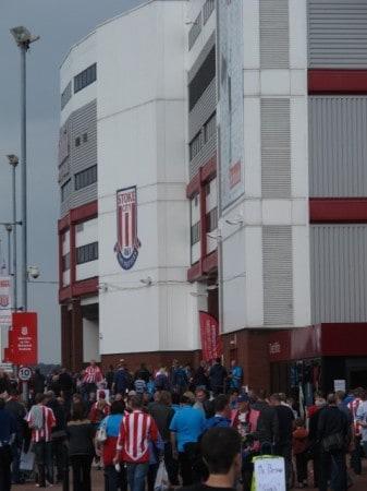 Britannia Stadium in Stoke