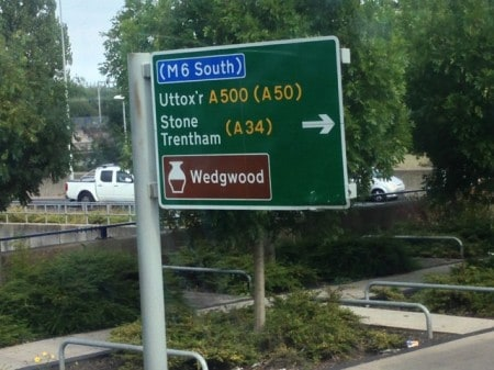 Wedgwood in in Stoke -- who knew?