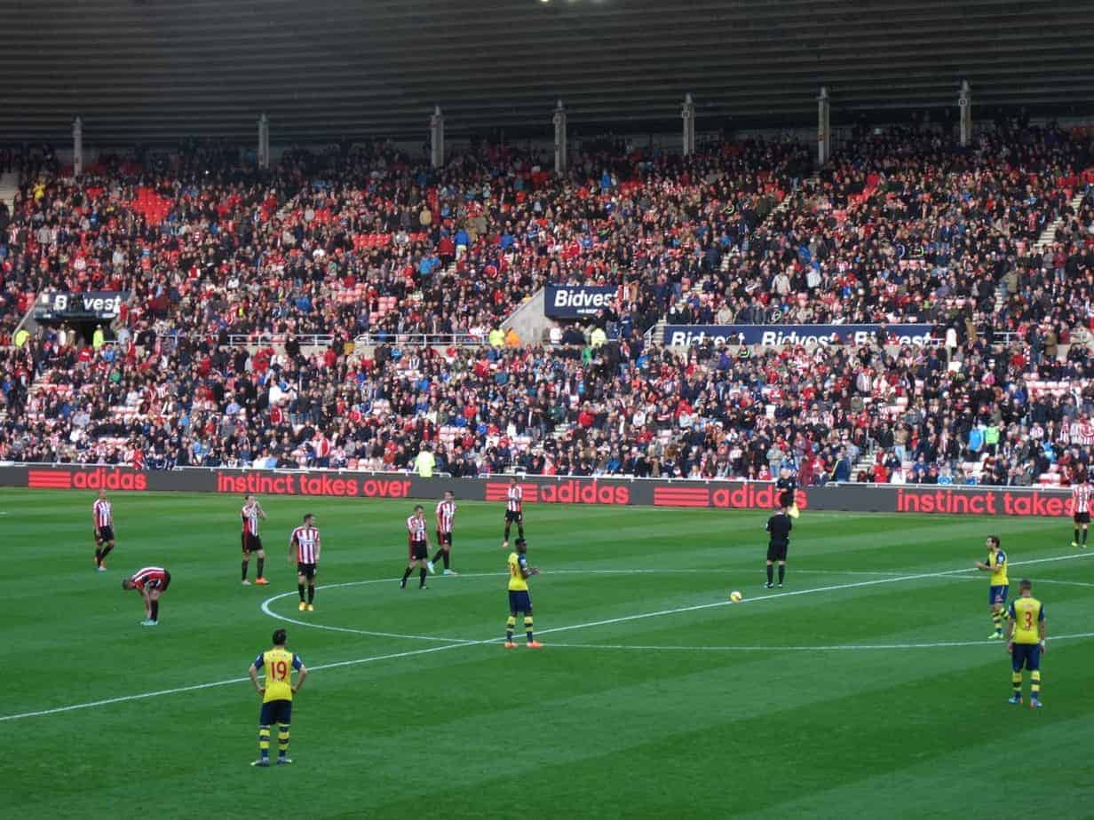Sunderland AFC Stadium of Light Arsenal 2014