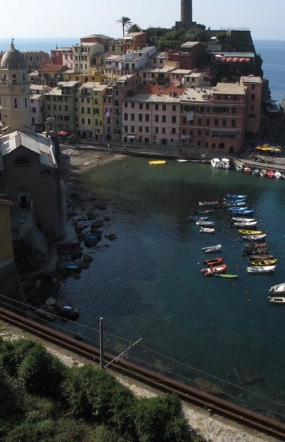The harbor at Vernazza, Cinque Terre.