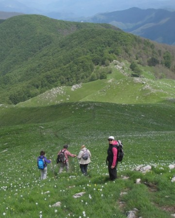 Monteo Croce hike in the Garfagnana area of Tuscany.
