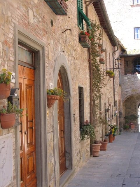 Plenty of medieval charm in San Donato, Tuscany.