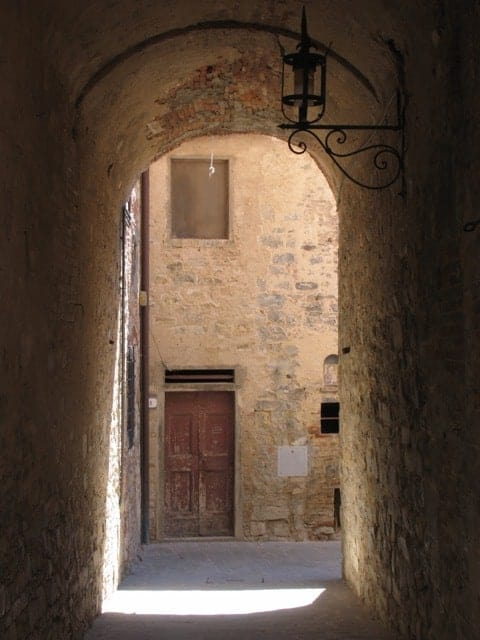 Medieval charm in San Donato, Tuscany.