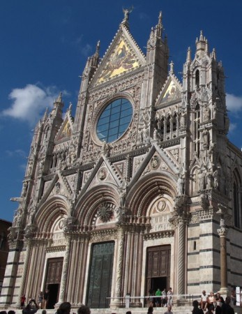 The duomo in Siena, Tuscany.
