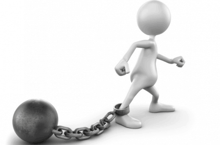Fear is the ultimate ball-and-chain.