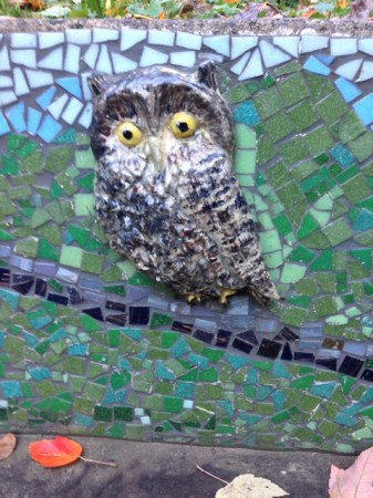 The Marquam Mosaic in Marquam Nature Park, where a nice year-round trail to Council Crest begins.