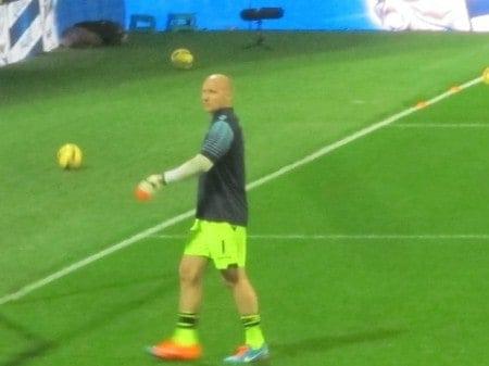 Brad Guzan, US National Team and Aston Villa goalkeeper.