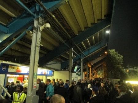 Loftus Road Stadium in West London, home of Queens Park Rangers.