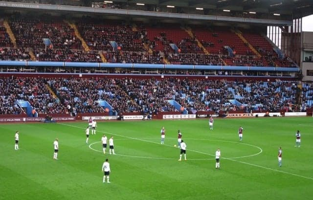 Spurs and Aston Villa get ready to start things off at Villa Park.