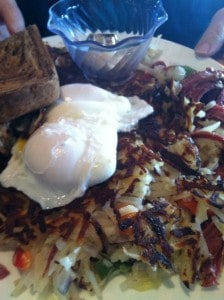 Corned beef hash at Jam on Hawthorne