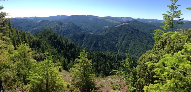 View from Elk Mountain.