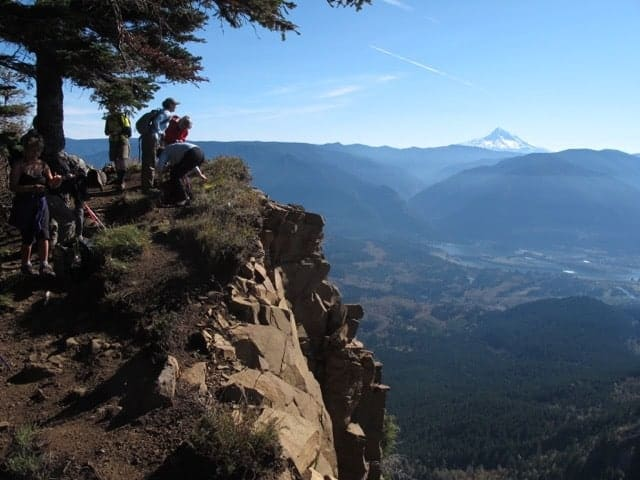 Summit of Table Mountain, Columbia River Gorge.