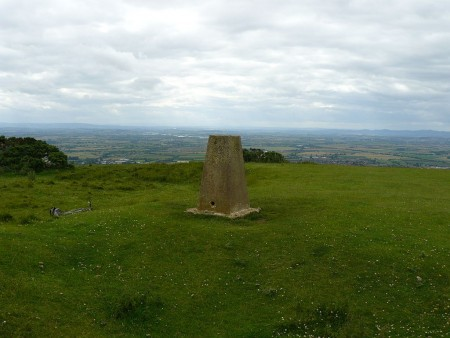 View from Cleeve Hill in the Cotswolds, via Wikipedia.