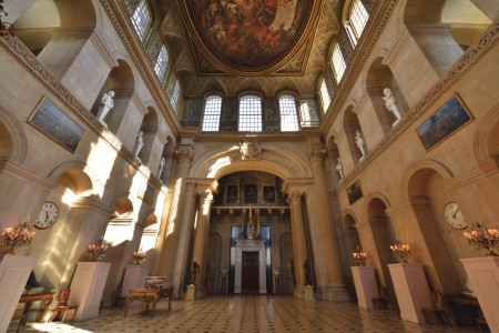 Blenheim Palace Great Hall Cotswold Way