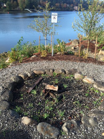 Community fire pit (permit required!)